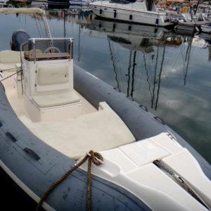 bateau semi rigide à Port-Grimaud